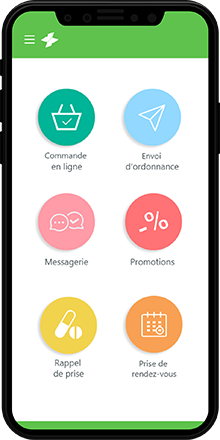 Application MeSoigner - Ma pharmacie tout de suite