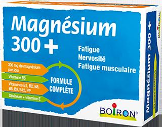 Magnésium 300+ de Boiron, Complément alimentaire