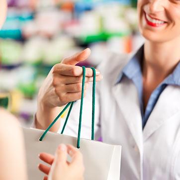 Retirez votre commande à la pharmacie
